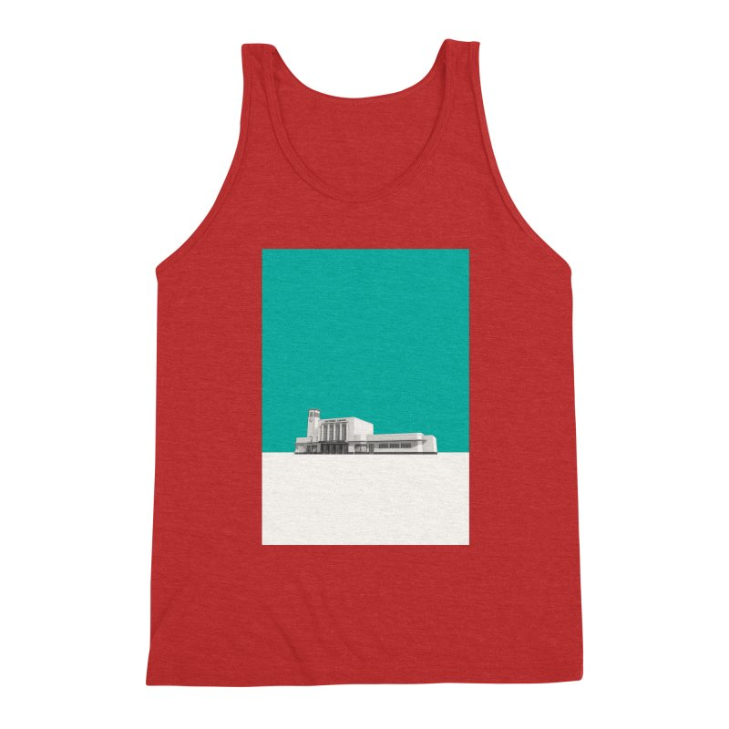 Surbiton Station Men's Triblend Tank by Pig's Ear Gear on Threadless