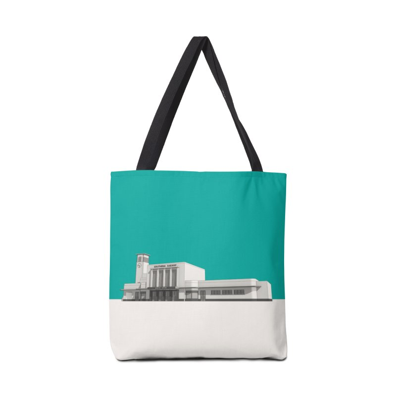 Surbiton Station Accessories Tote Bag Bag by Pig's Ear Gear on Threadless