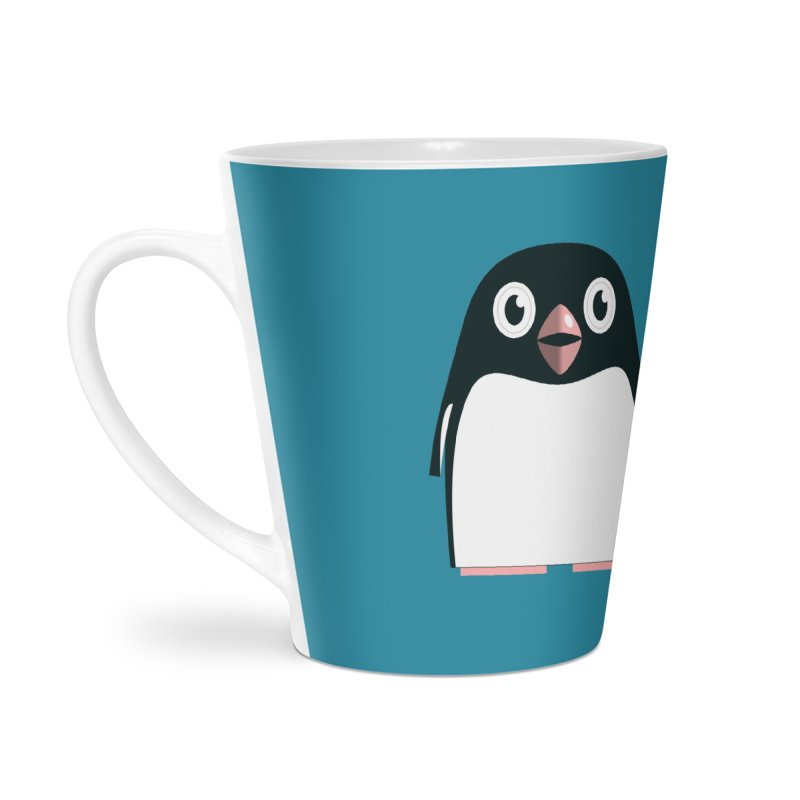 Adélie penguin Accessories Latte Mug by Pig's Ear Gear on Threadless