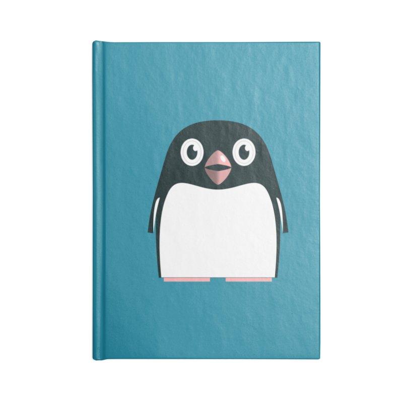 Adélie penguin Accessories Lined Journal Notebook by Pig's Ear Gear on Threadless