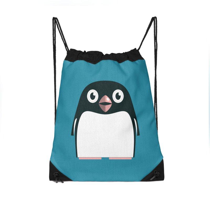 Adélie penguin Accessories Drawstring Bag Bag by Pig's Ear Gear on Threadless