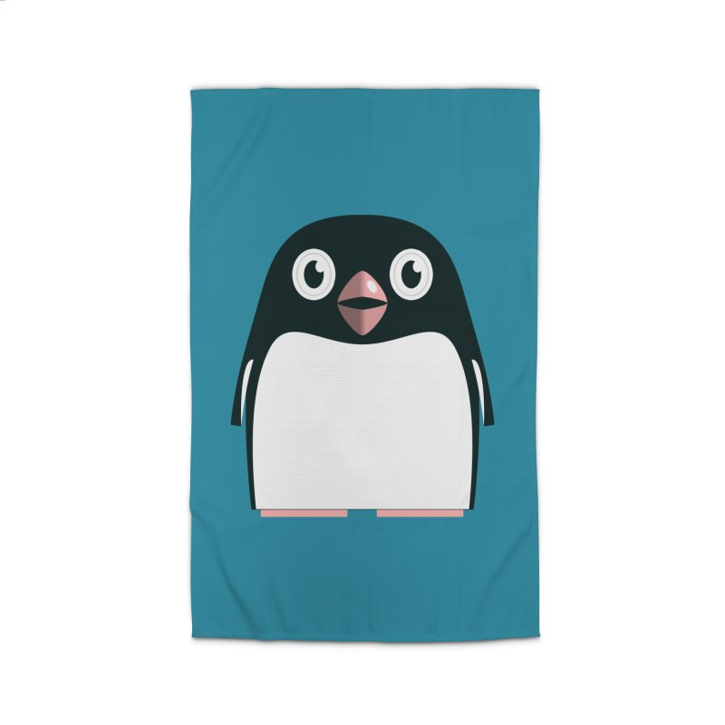 Adélie penguin Home Rug by Pig's Ear Gear on Threadless