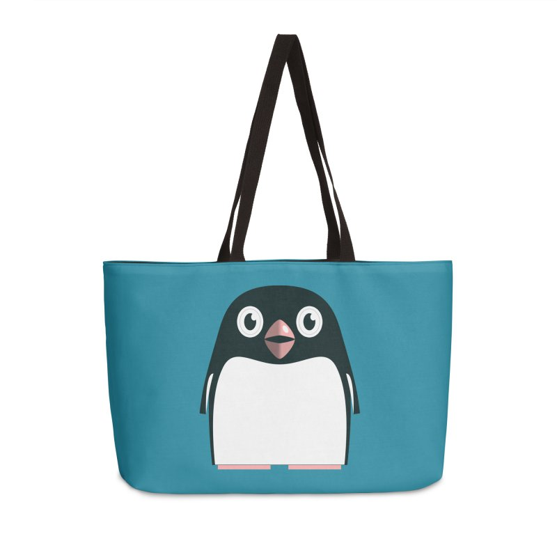 Adélie penguin Accessories Bag by Pig's Ear Gear on Threadless