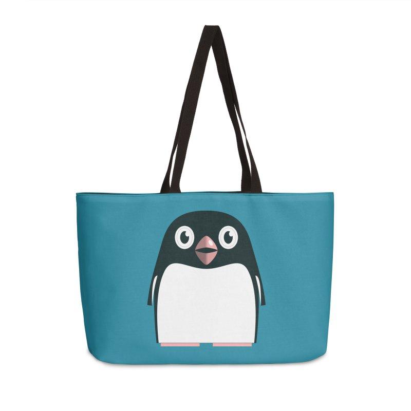Adélie penguin Accessories Weekender Bag Bag by Pig's Ear Gear on Threadless