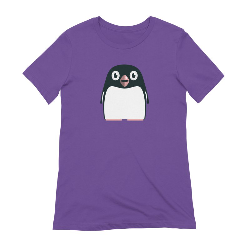 Adélie penguin Women's Extra Soft T-Shirt by Pig's Ear Gear on Threadless