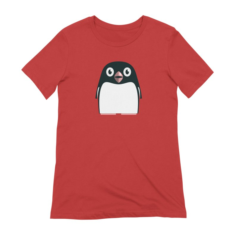 Adélie penguin Women's Extra Soft T-Shirt by Pig's Ear Gear on Threadless