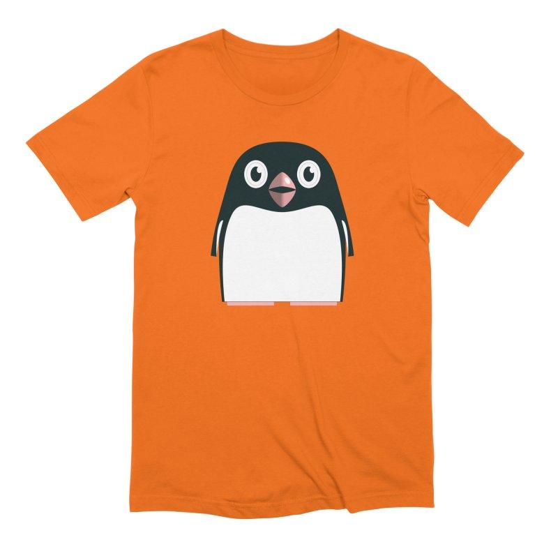 Adélie penguin Men's Extra Soft T-Shirt by Pig's Ear Gear on Threadless