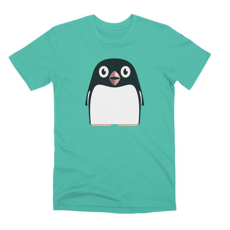 Adélie penguin Men's Premium T-Shirt by Pig's Ear Gear on Threadless