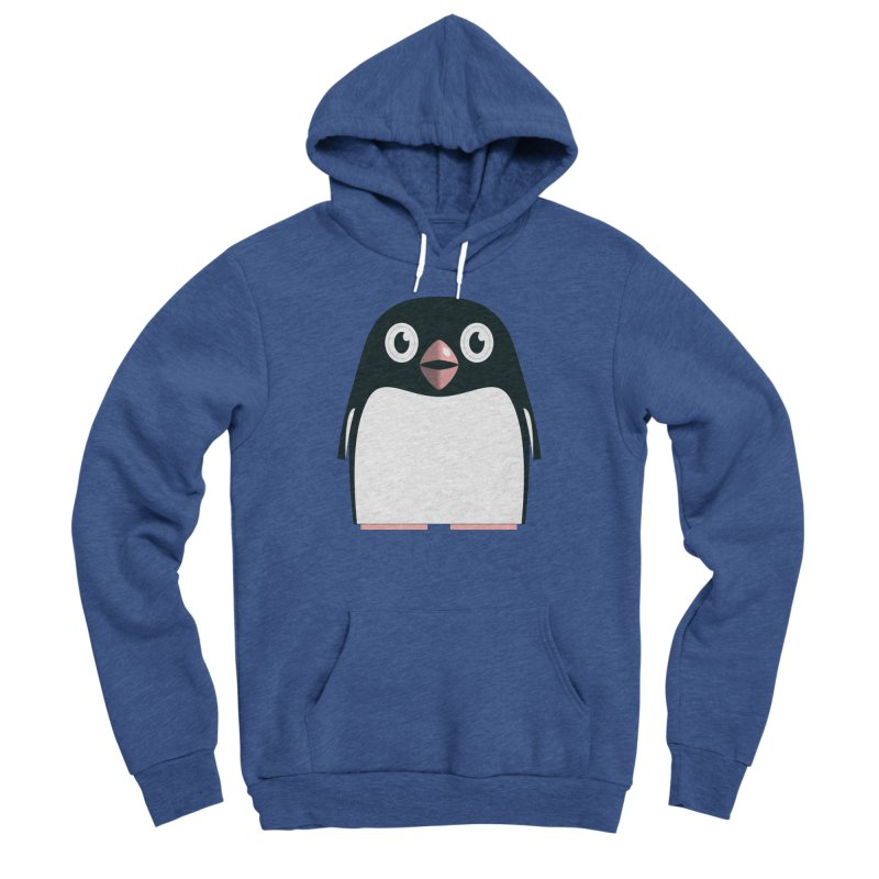 Adélie penguin Men's Sponge Fleece Pullover Hoody by Pig's Ear Gear on Threadless