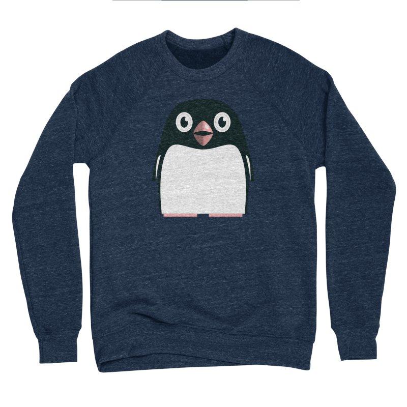 Adélie penguin Women's Sponge Fleece Sweatshirt by Pig's Ear Gear on Threadless