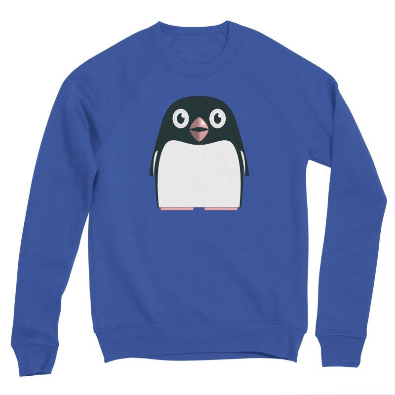 Adélie penguin Men's Sponge Fleece Sweatshirt by Pig's Ear Gear on Threadless