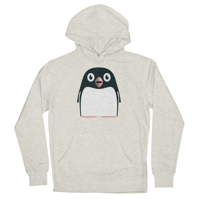 Adélie penguin Men's French Terry Pullover Hoody by Pig's Ear Gear on Threadless
