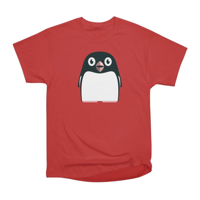 Adélie penguin Men's Heavyweight T-Shirt by Pig's Ear Gear on Threadless