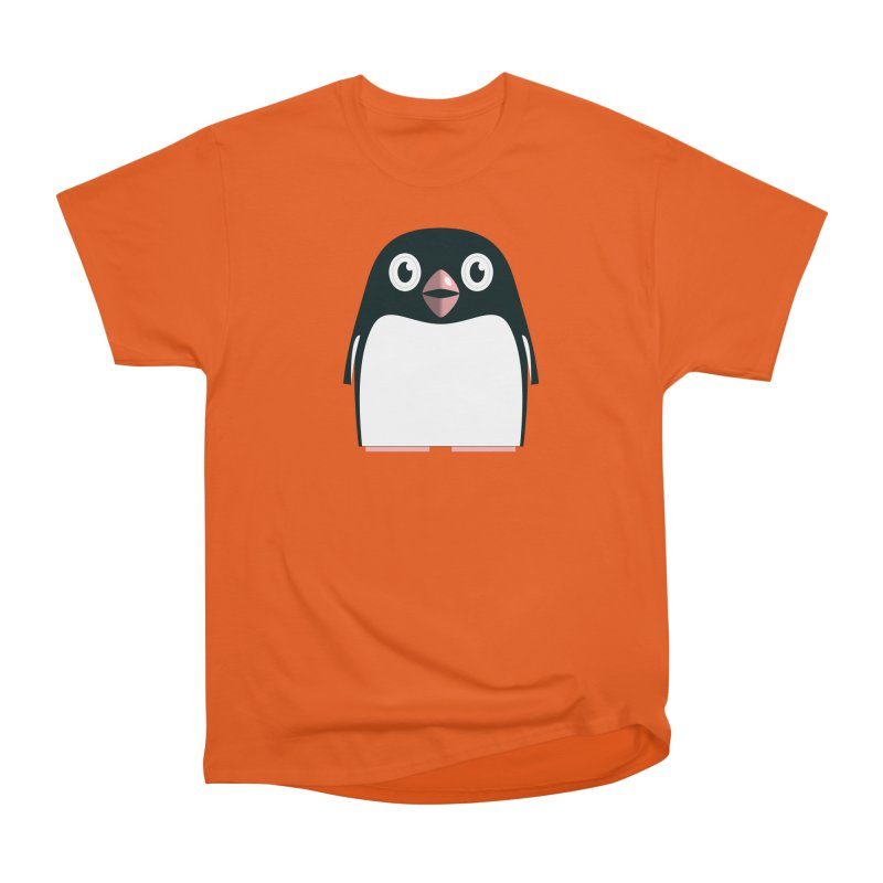 Adélie penguin Women's Heavyweight Unisex T-Shirt by Pig's Ear Gear on Threadless