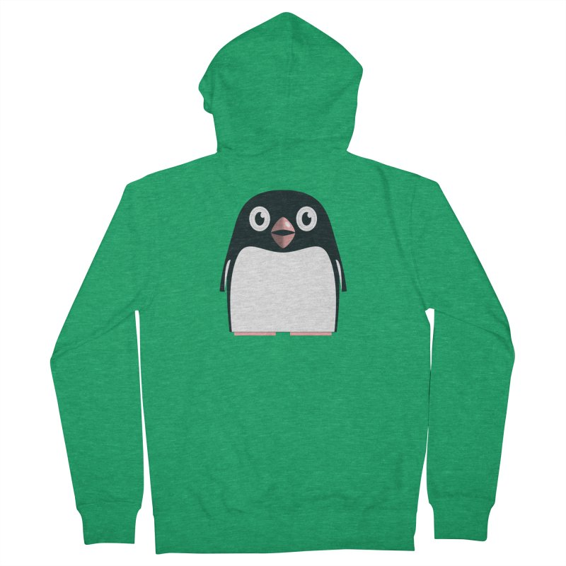 Adélie penguin Women's Zip-Up Hoody by Pig's Ear Gear on Threadless