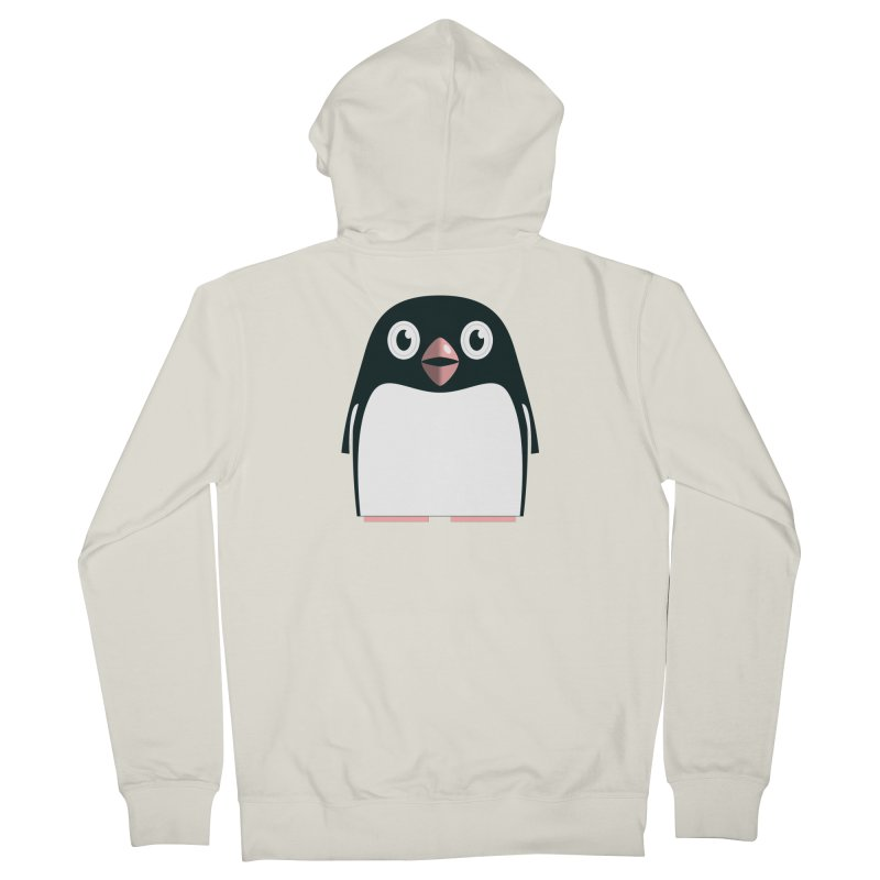 Adélie penguin Women's French Terry Zip-Up Hoody by Pig's Ear Gear on Threadless