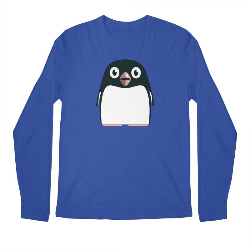 Adélie penguin Men's Regular Longsleeve T-Shirt by Pig's Ear Gear on Threadless