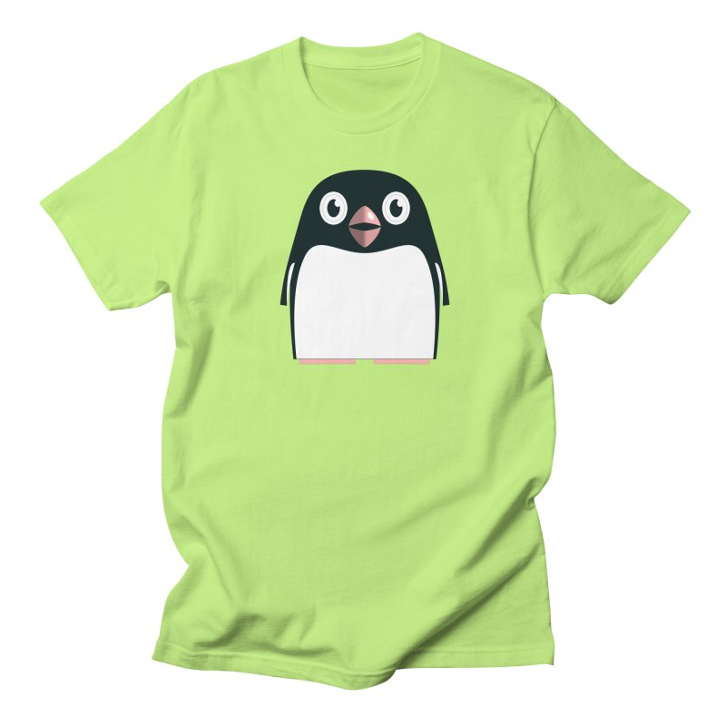 Adélie penguin Men's Regular T-Shirt by Pig's Ear Gear on Threadless