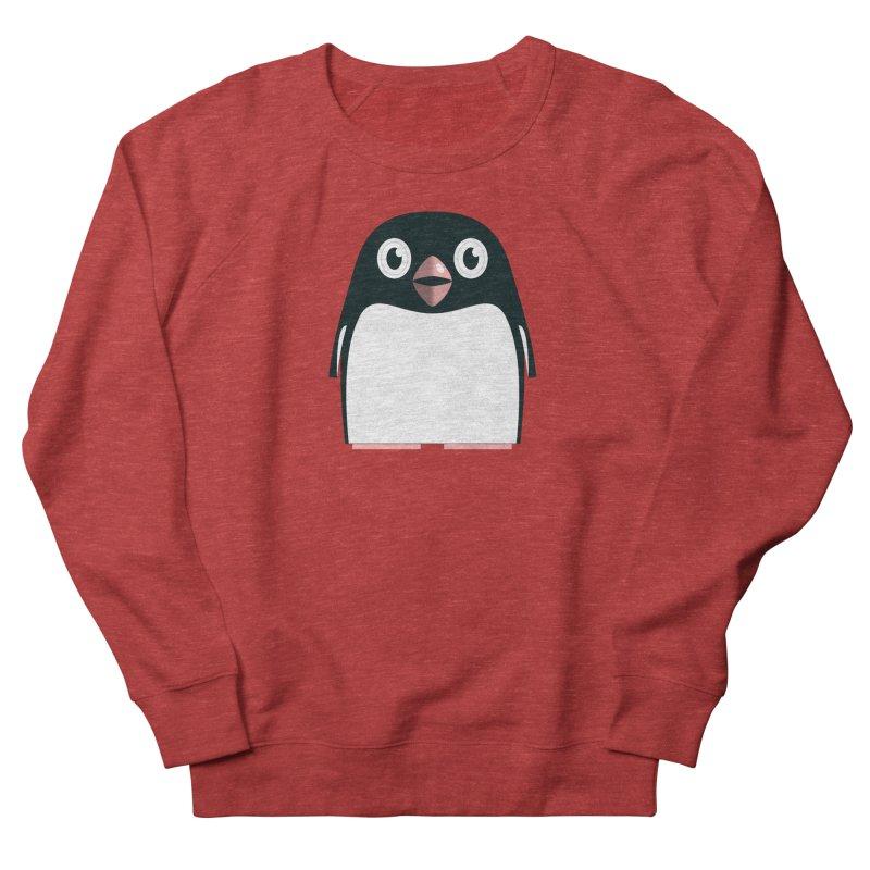 Adélie penguin Women's French Terry Sweatshirt by Pig's Ear Gear on Threadless