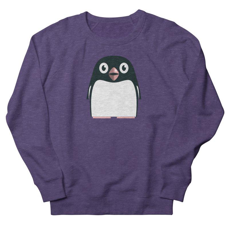 Adélie penguin Men's French Terry Sweatshirt by Pig's Ear Gear on Threadless