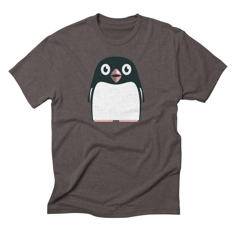 Adélie penguin Men's Triblend T-Shirt by Pig's Ear Gear on Threadless
