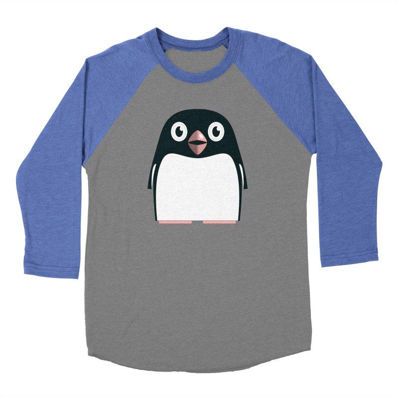 Adélie penguin Men's Baseball Triblend Longsleeve T-Shirt by Pig's Ear Gear on Threadless