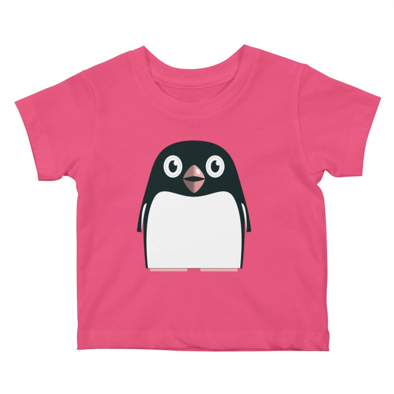 Adélie penguin Kids Baby T-Shirt by Pig's Ear Gear on Threadless