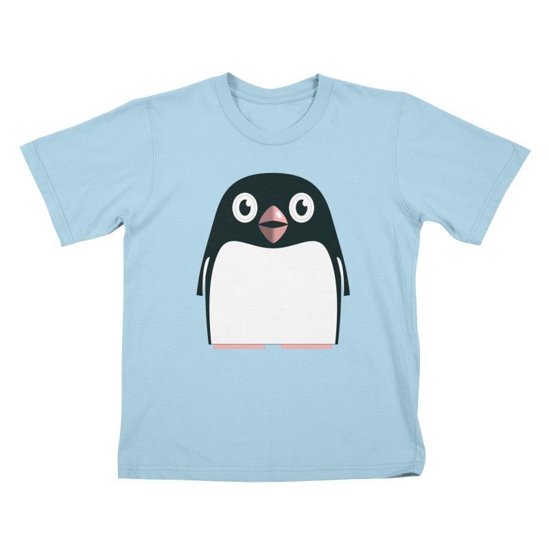 Adélie penguin Kids T-Shirt by Pig's Ear Gear on Threadless