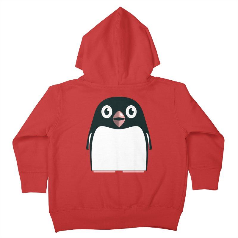 Adélie penguin Kids Toddler Zip-Up Hoody by Pig's Ear Gear on Threadless