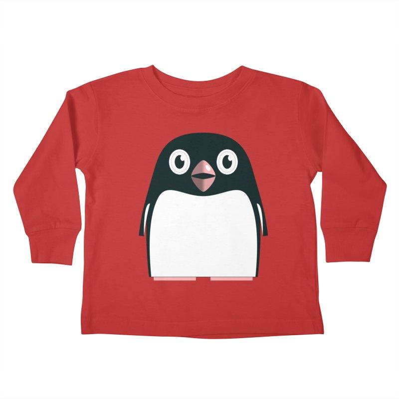 Adélie penguin Kids Toddler Longsleeve T-Shirt by Pig's Ear Gear on Threadless