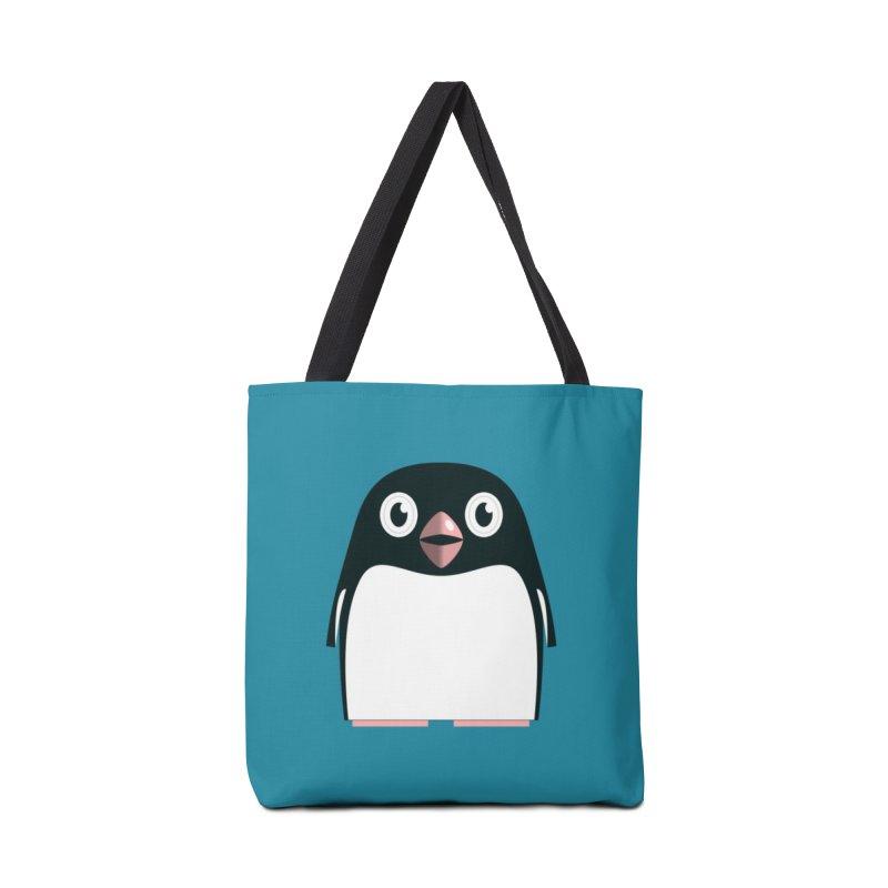 Adélie penguin Accessories Bag by Pig's Ear Gear on Threadless