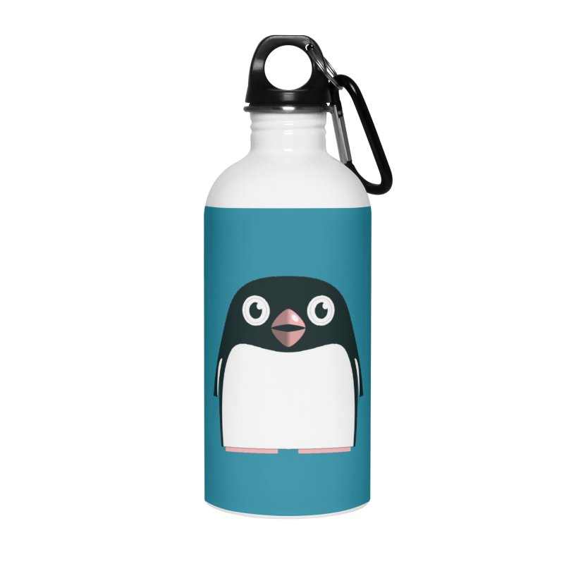 Adélie penguin Accessories Water Bottle by Pig's Ear Gear on Threadless