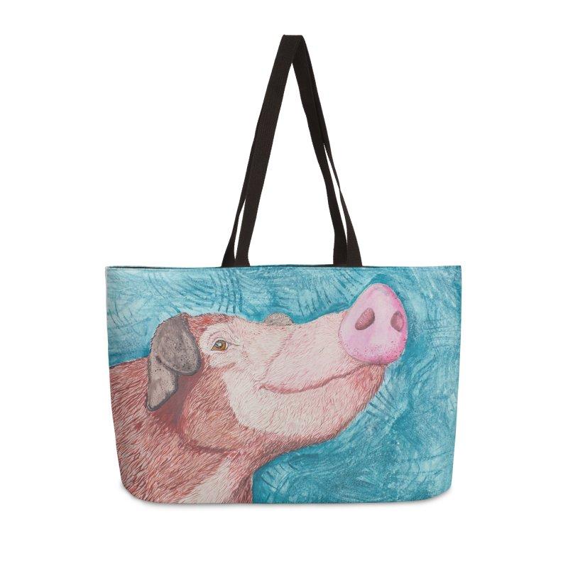 Phoenix Felix Accessories Weekender Bag Bag by pigtopia's Artist Shop