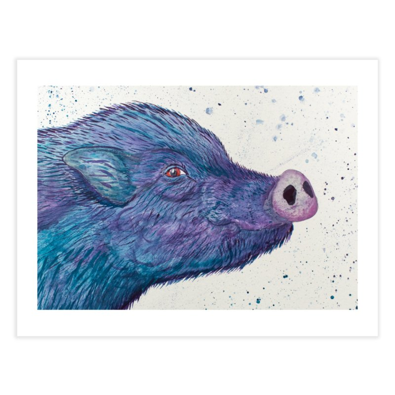 Fergus O'Malley Home Fine Art Print by pigtopia's Artist Shop