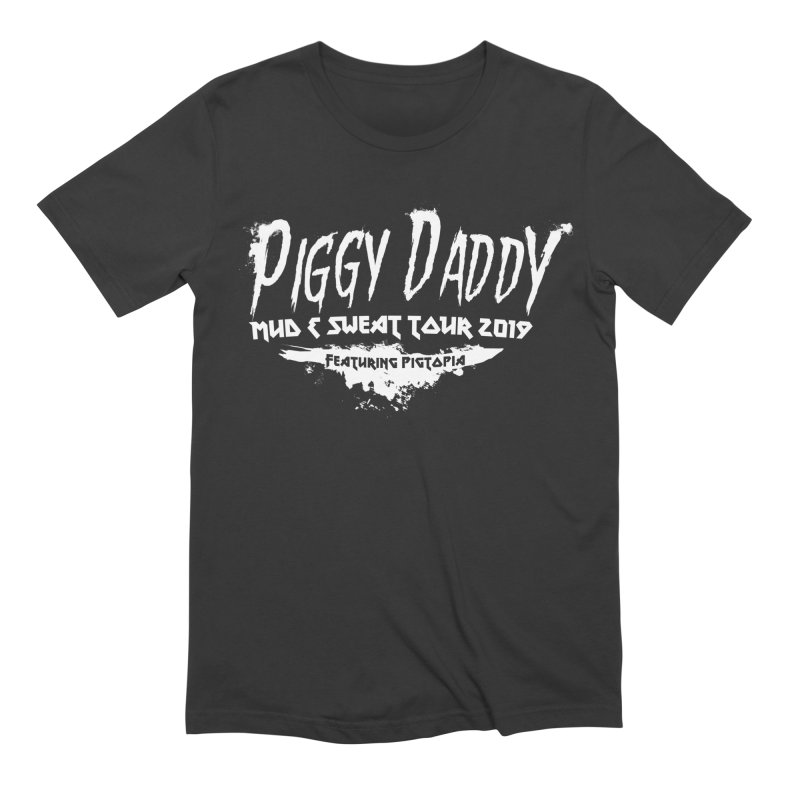 Piggy Daddy Men's Extra Soft T-Shirt by pigtopia's Artist Shop