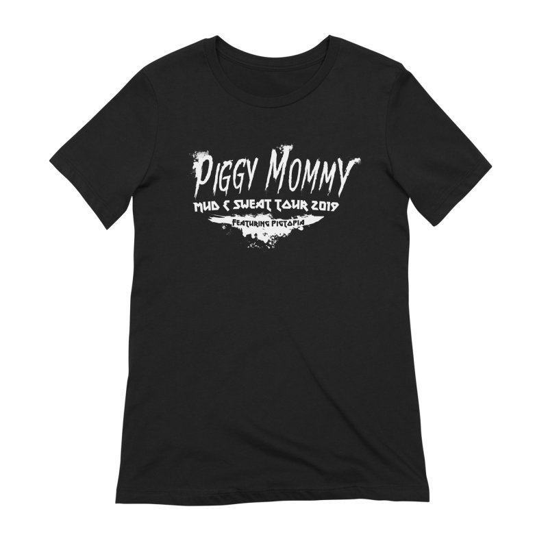 Piggy Mommy Women's Extra Soft T-Shirt by pigtopia's Artist Shop