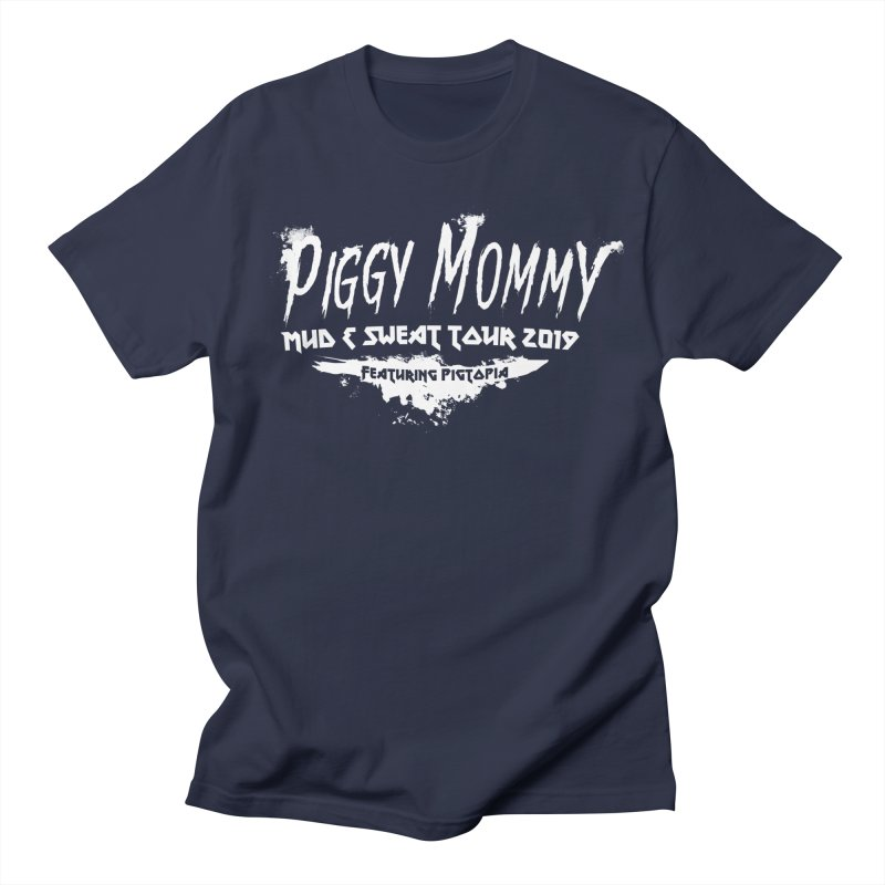 Piggy Mommy Women's Regular Unisex T-Shirt by pigtopia's Artist Shop