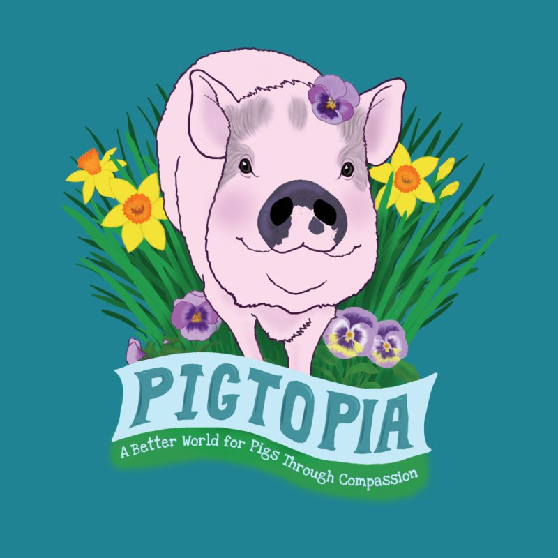 Pigtopia Official Logo Gear by pigtopia's Artist Shop