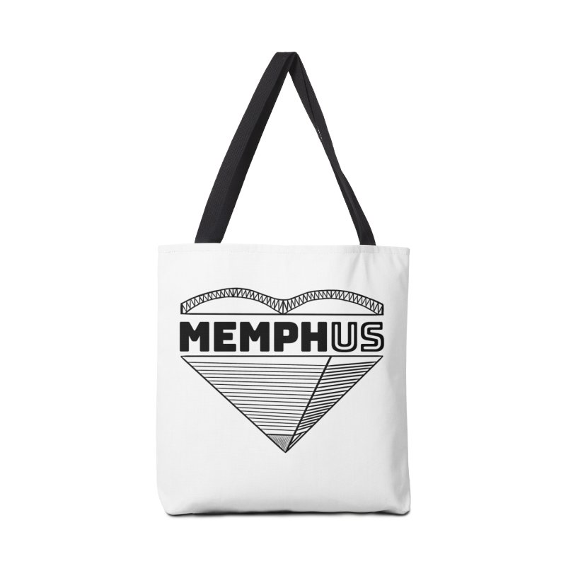 MemphUS Accessories Tote Bag Bag by pigtopia's Artist Shop
