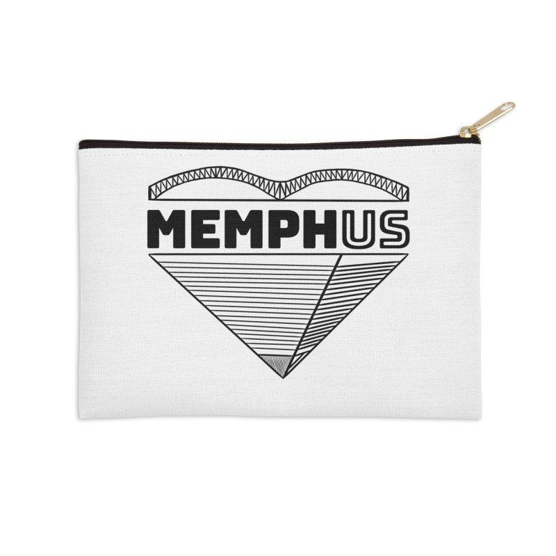 MemphUS Accessories Zip Pouch by pigtopia's Artist Shop