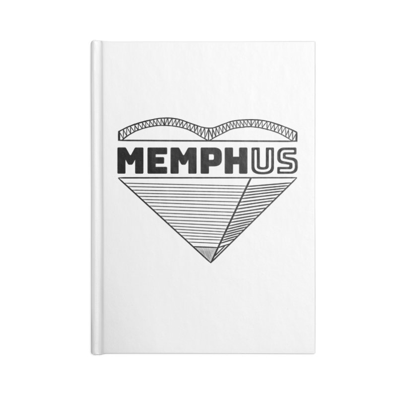 MemphUS Accessories Lined Journal Notebook by pigtopia's Artist Shop