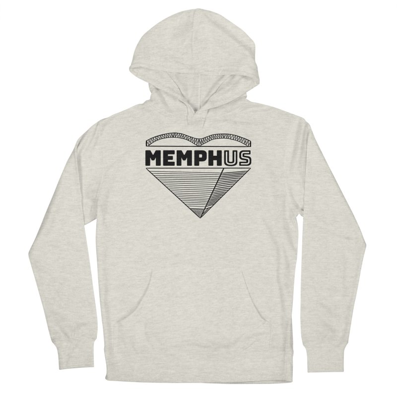 MemphUS Women's French Terry Pullover Hoody by pigtopia's Artist Shop