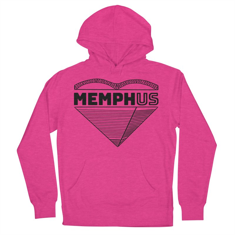 MemphUS Men's French Terry Pullover Hoody by pigtopia's Artist Shop