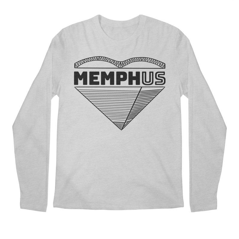 MemphUS Men's Regular Longsleeve T-Shirt by pigtopia's Artist Shop