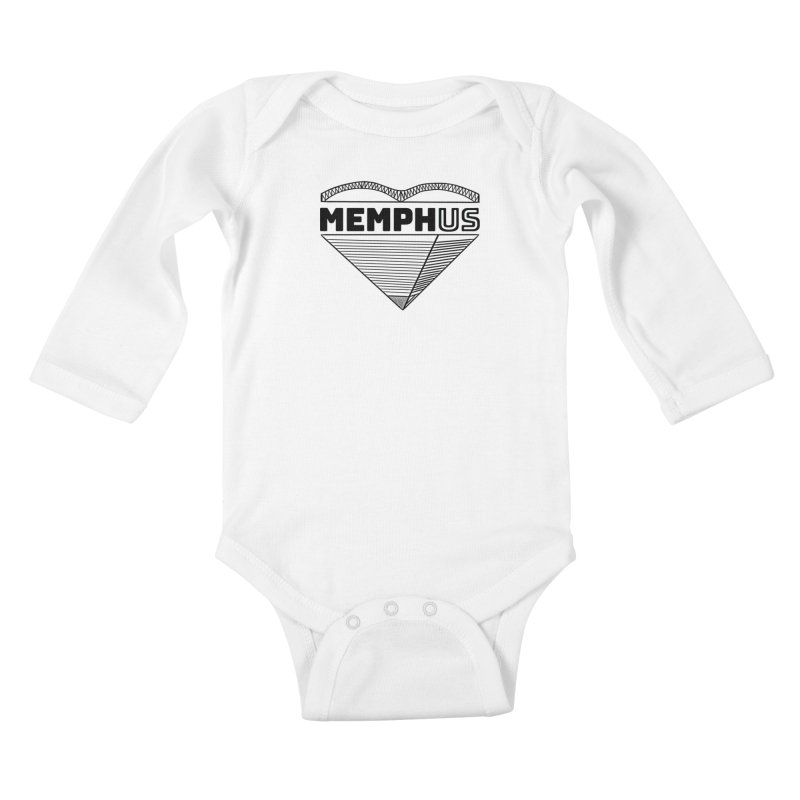 MemphUS Kids Baby Longsleeve Bodysuit by pigtopia's Artist Shop