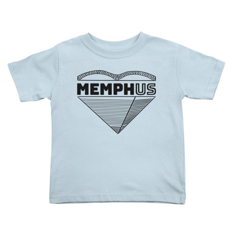 MemphUS Kids Toddler T-Shirt by pigtopia's Artist Shop