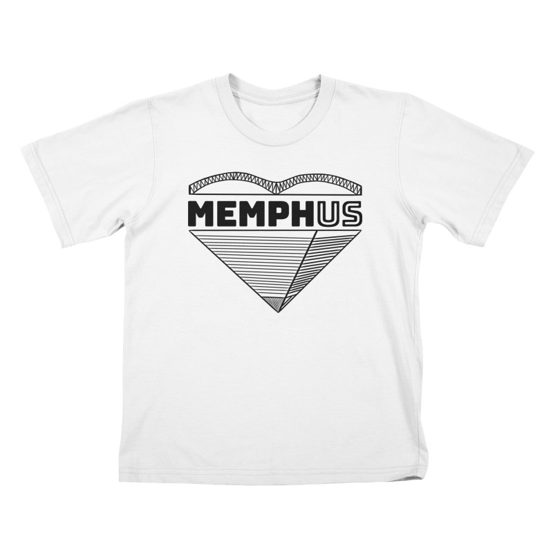 MemphUS Kids T-Shirt by pigtopia's Artist Shop