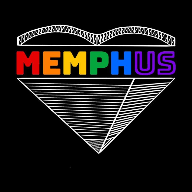 MemphUS Rainbow Women's T-Shirt by pigtopia's Artist Shop