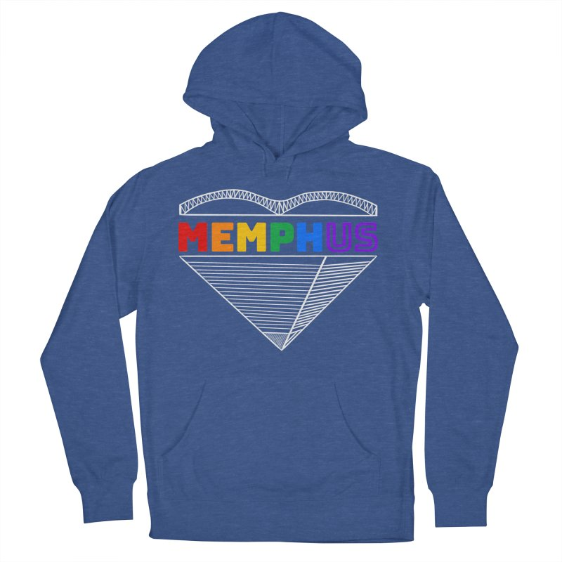 MemphUS Rainbow Women's French Terry Pullover Hoody by pigtopia's Artist Shop