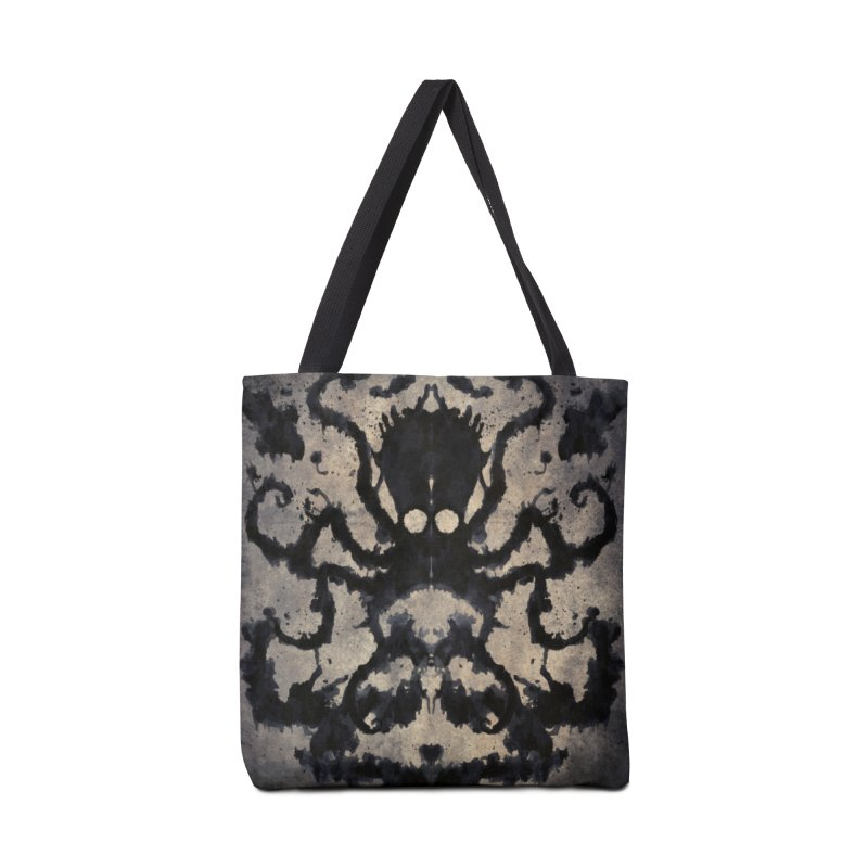 Rorschach octopus Accessories Bag by Pijaczaj